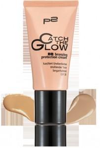 BB bronzing protection cream mit Swatch