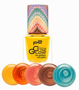 sun goddess nail polish mit Swatches2