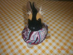 Kopftuch mit Gummizug- Lilarosa.de