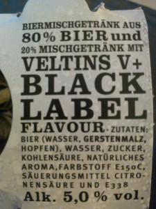 V+Black Label