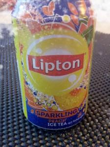 Dose Lipton Sparkling Peach