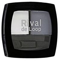 Rival de Loop Eyeshadow Duo Nr. 14 white rock matt