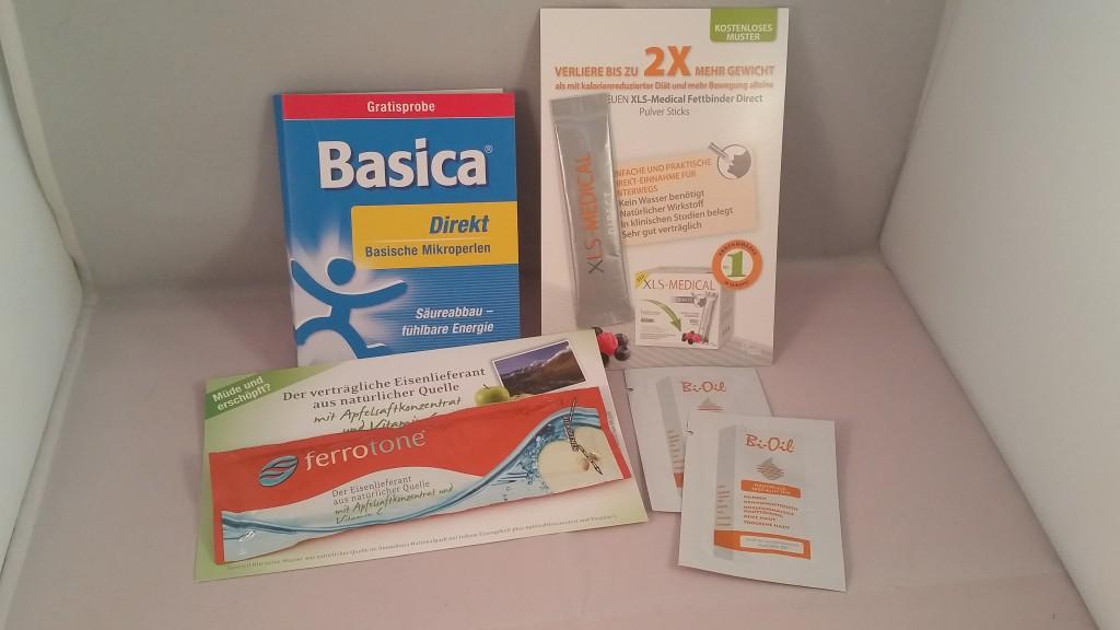 Gesundbox Medipolis Basica, XLS-Medical Fettbinder, Bi-Oil, Ferrotone Apfel