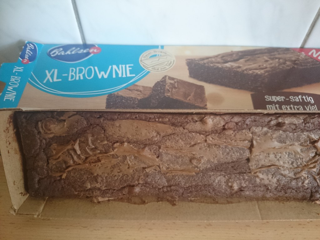 Bahlsen XL Brownie offen