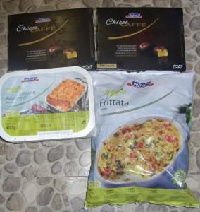 Bofrost Chicco Cafe, Veggie Frittata , Veggie Lasagne