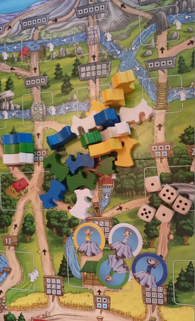 Gipfelstürmer Spielfeld