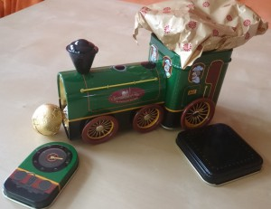 Spezi-Haus - Lokomotive