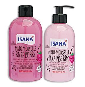 ISANA Mademoiselle Raspberry Cremedusche Bodylotion