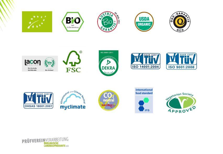 Green Coco Zertifizierungen