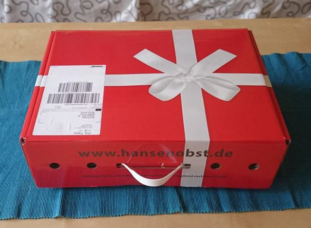 Hansen Obst Box