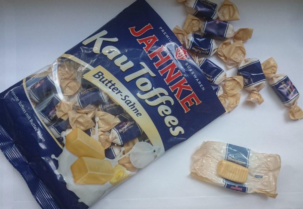 Jahnke Kau Toffees Butter Sahne