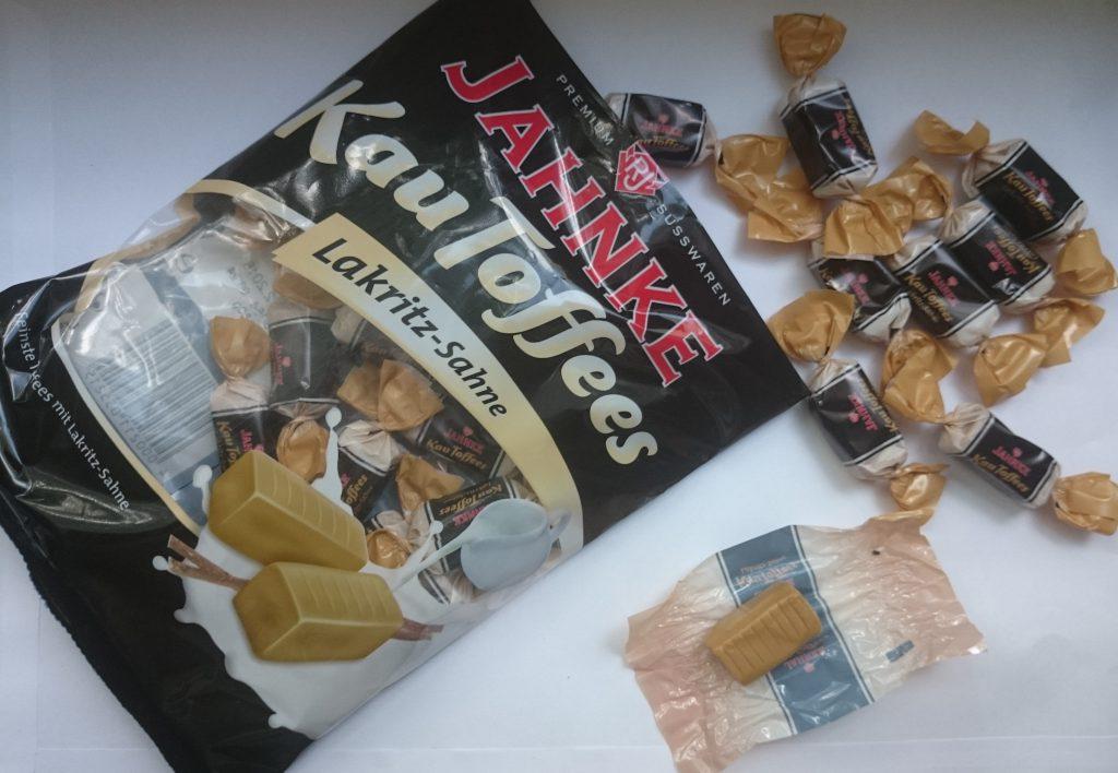 Jahnke Kau Toffees Lakritz-Sahne