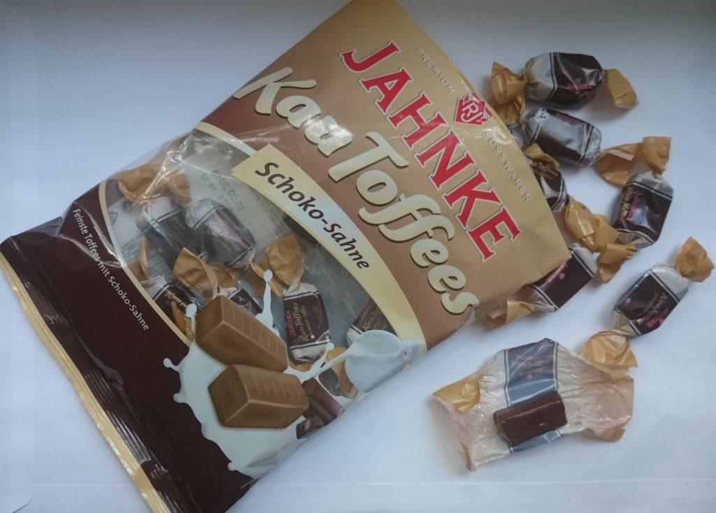 Jahnke Kau Toffees Schoko-Sahne