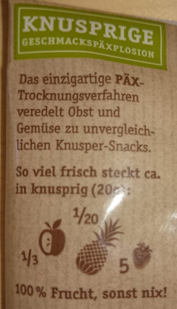 PÄX Frucht Mix Rot Rückseite