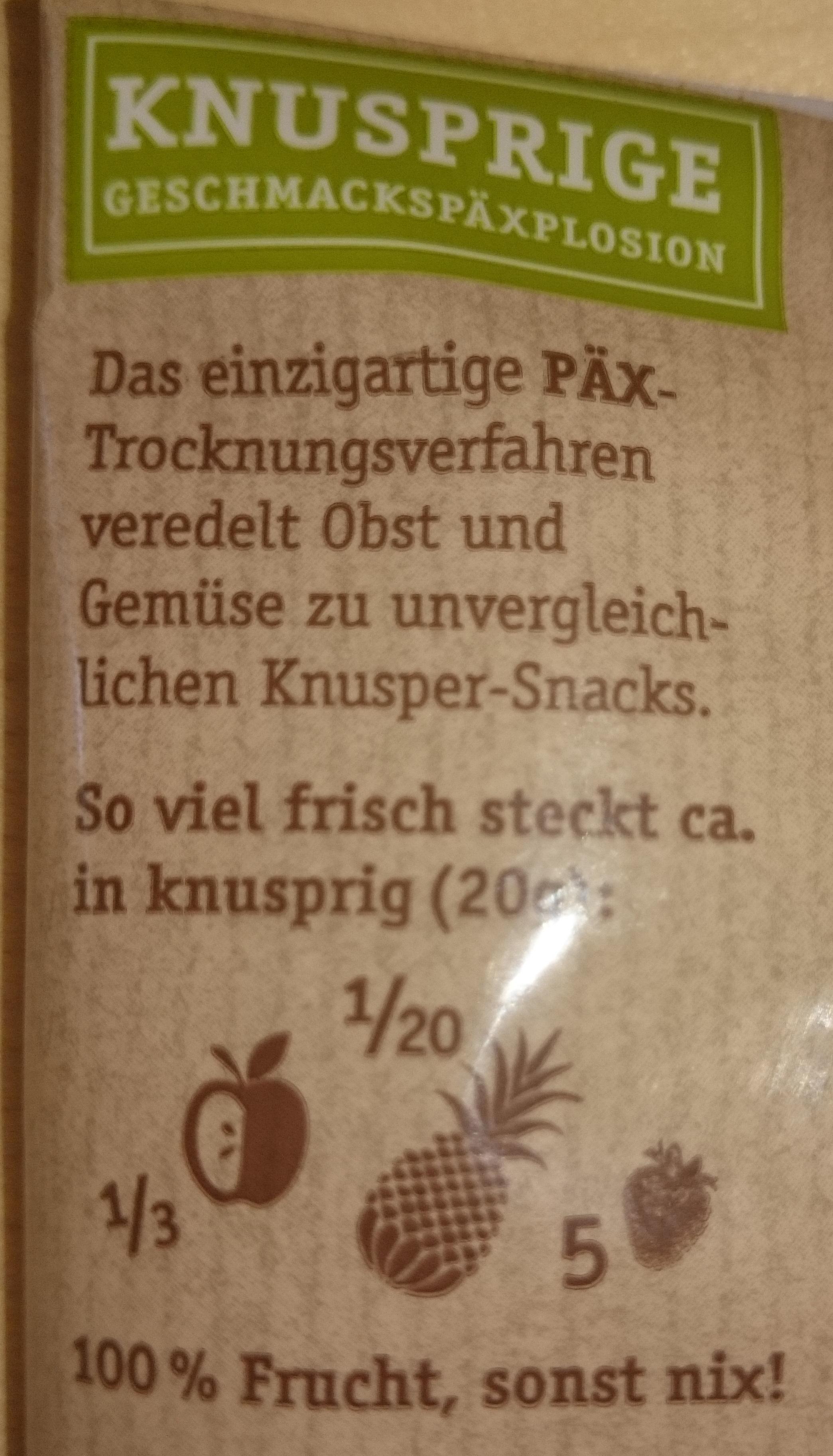 Päx Knusprige Früchte