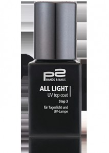 all light UV top coat