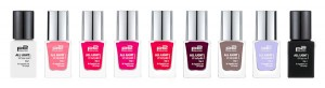 all light nail polish 010 020 030 040 050 060 070