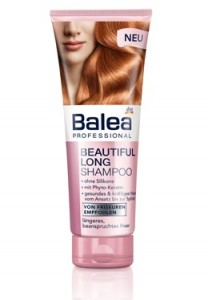 balea beautiful long shampoo