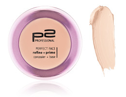 perfect face refine + prime conceiler mit Swatch