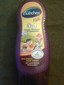 Bübchen  Kids 3in1 Shower&Shampoo plus Pflegebalsam