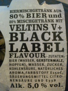 V+Black Label