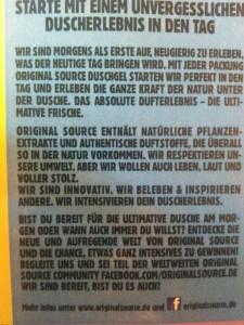 Original Source  Leitspruch