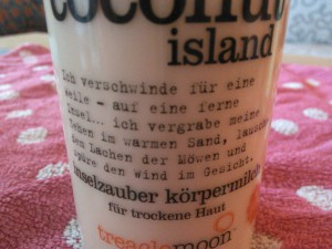 coconut text