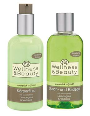 Wellness & Beauty Dusch- und Badegel & Körperfluid Lemongras und Verbene
