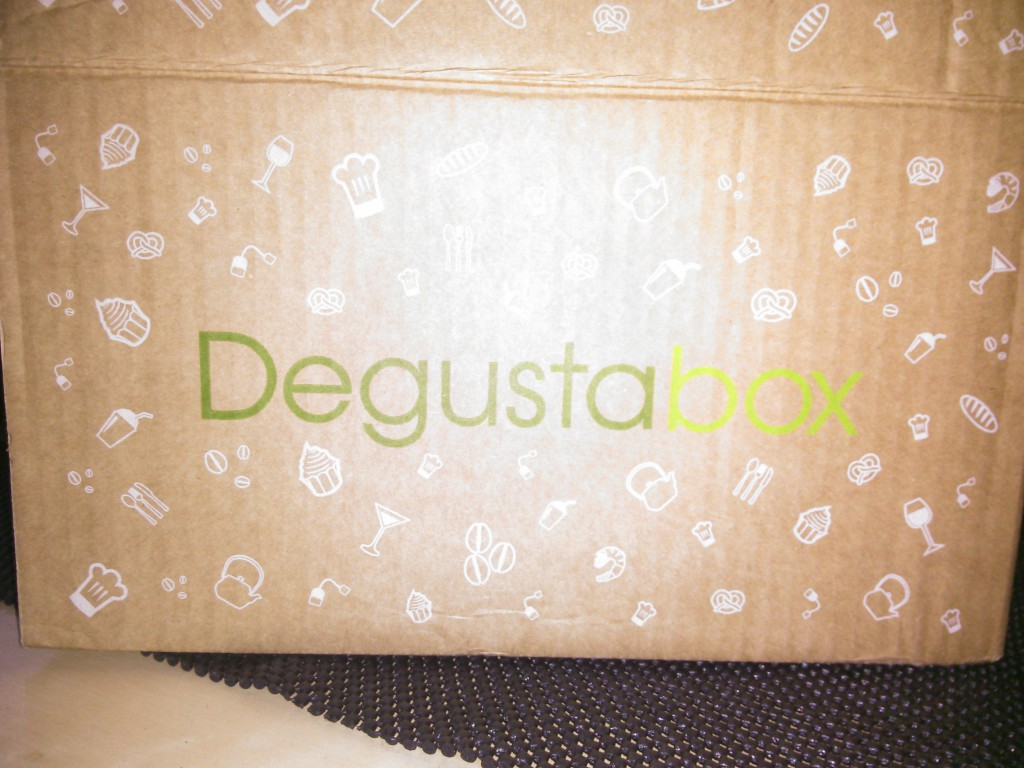 Degustabox November 2014 aussen