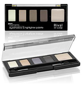 "Rival de Loop ""Pure Moments"" Eyshadow & Highlighter Palette"