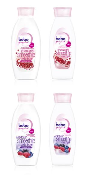 bebe Young Care smoothies Pflegende Fruchtbomben für weiche Haut