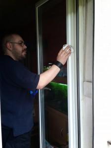 Fensterputzen mit GrüNatur