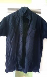 Hemd vorher