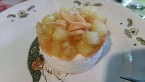 Bofrost Bratapfeltörtchen ausgepackt