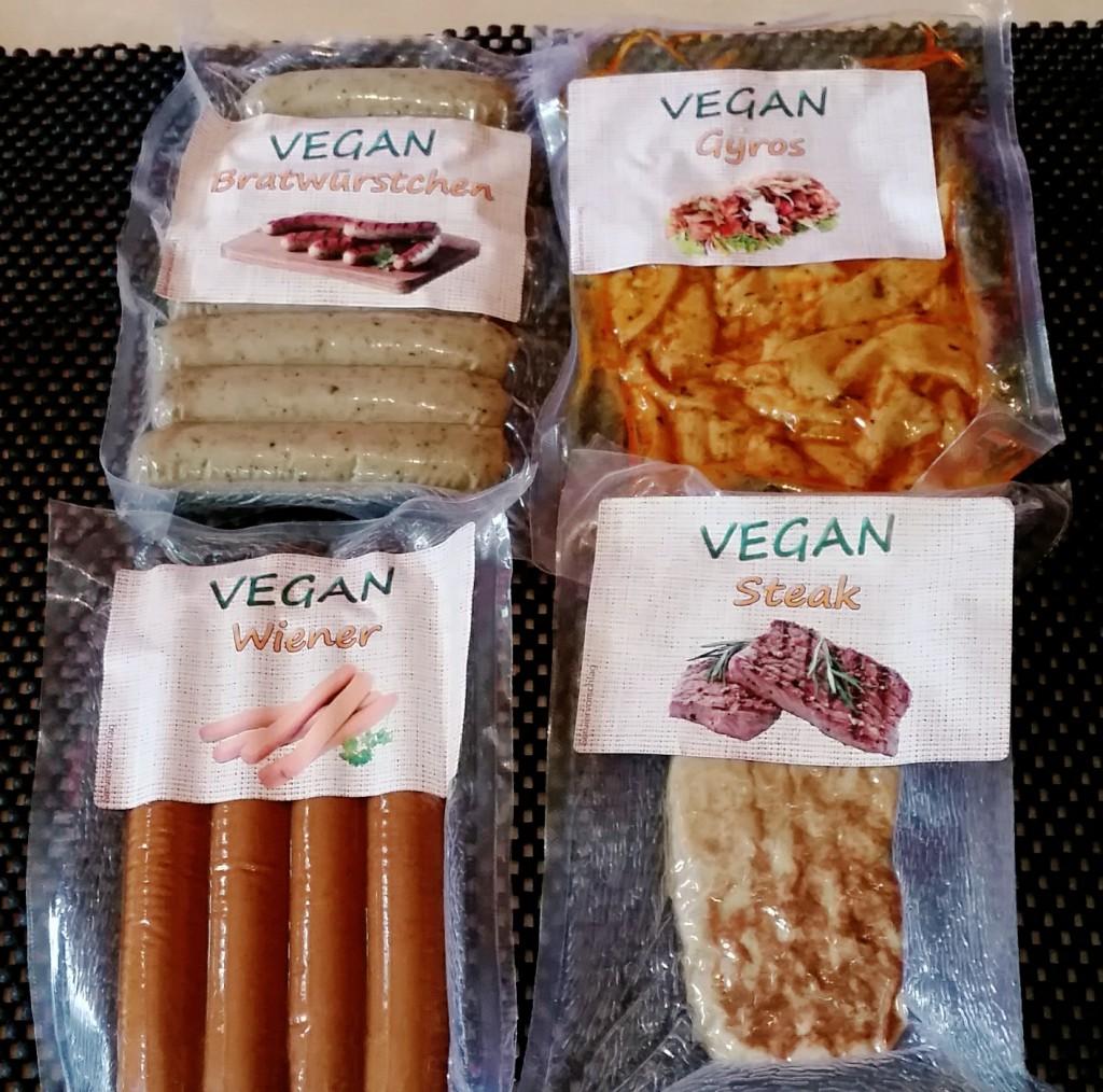 Höhenreiner Vegane Wurst und Fleisch
