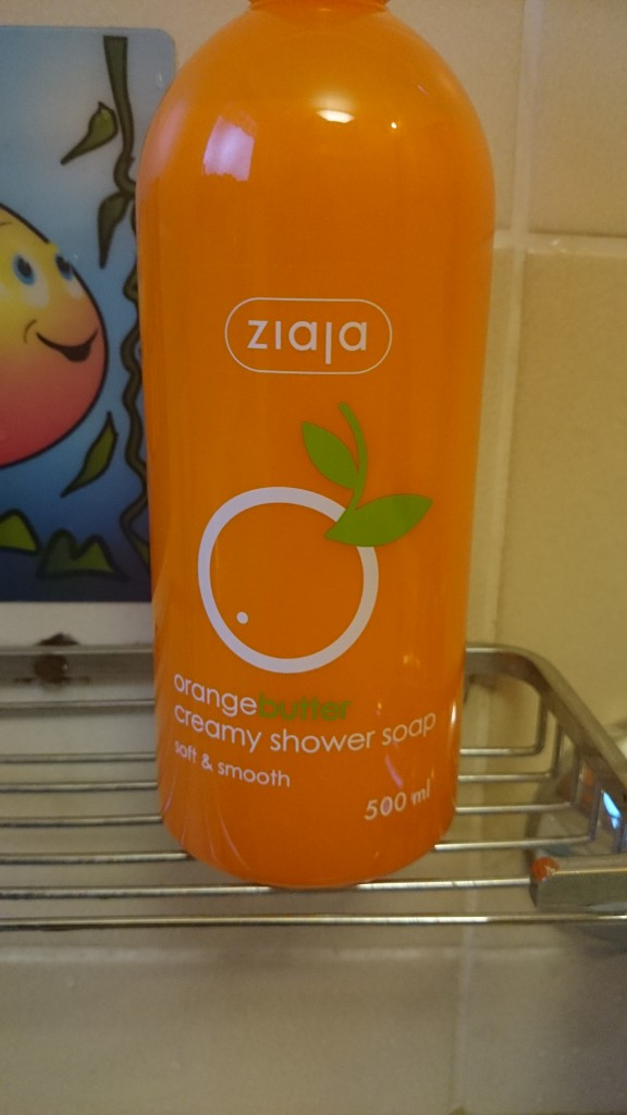 Ziaja Orangebutter creamy shower soap