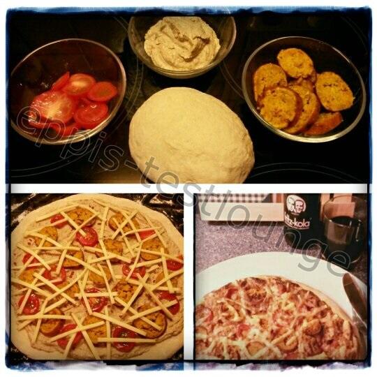 06c Falafel aufgetaut - Pizza