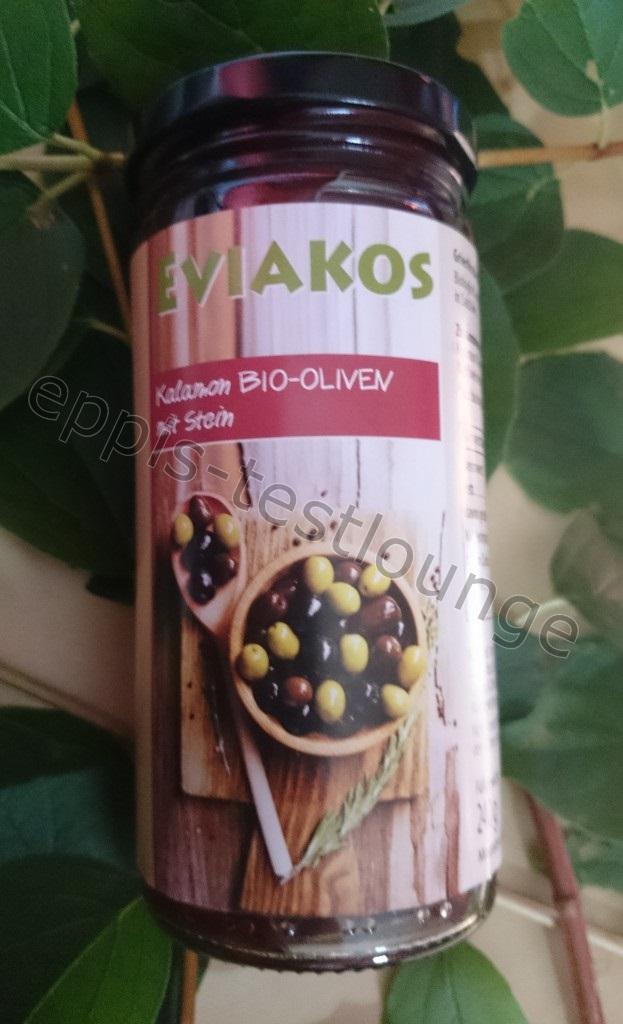 Lakonikos - Eviakos Kalamon BIO Oliven mit Stein