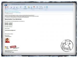 Email Signatur Calu Gefro