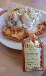 Harissa zu Fleisch