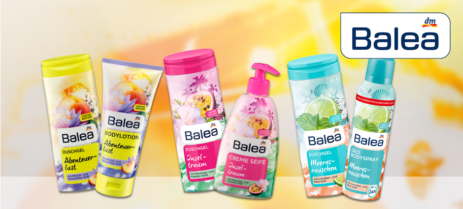 Balea Limited Edition Sommer