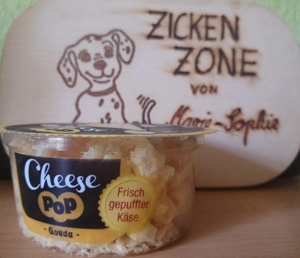 Cheese Pop frisch gepuffter Käse