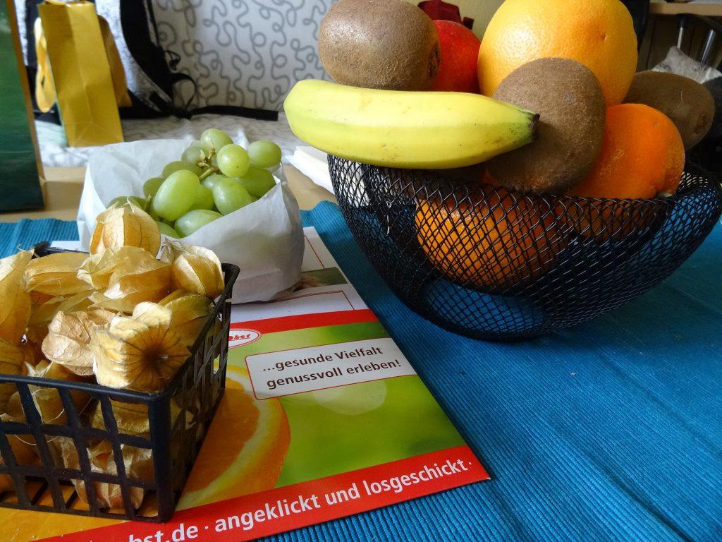 Hansen Obst Obstkorb schwarz