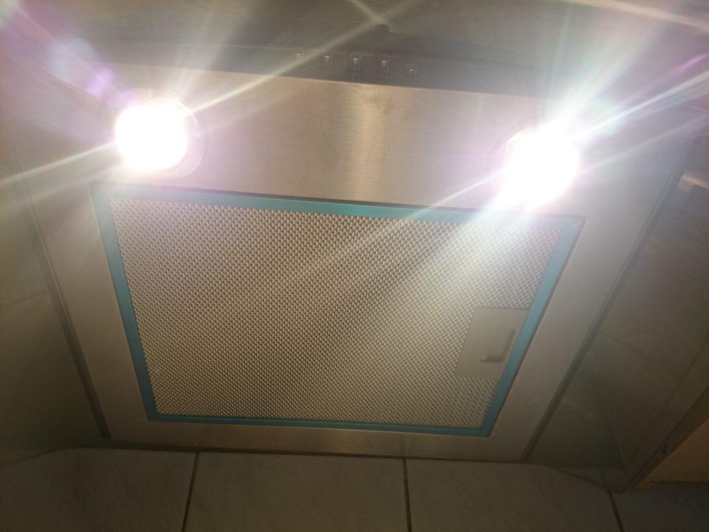 Klarstein Dunstabzugshaube GL60WS Licht