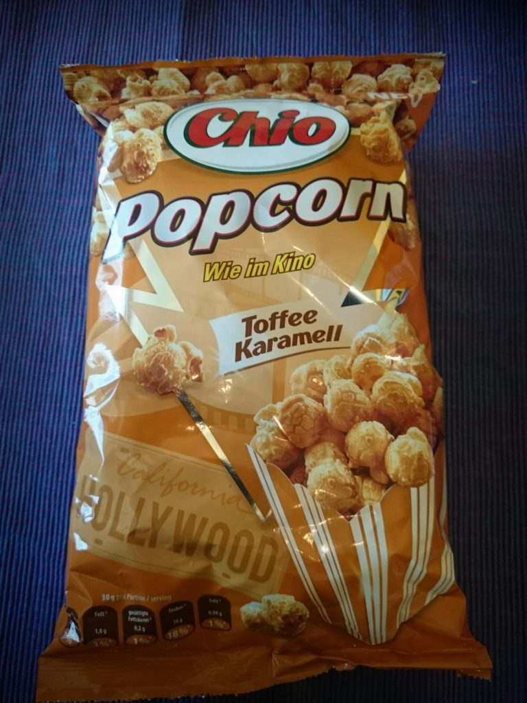 My Couchbox März 2016 Chio Popcorn