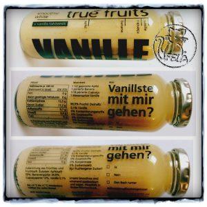 frucht24 - TrueFruits Vanillste mit mir gehen