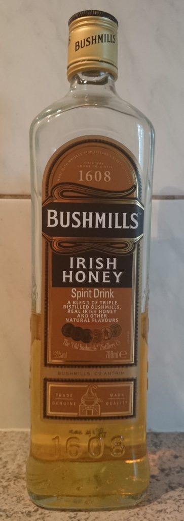 Bushmills Irish Honey Whiskey Likör