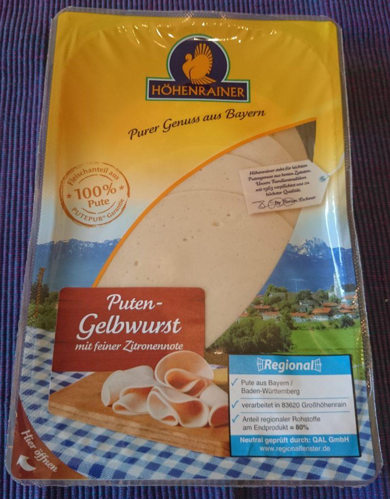 Höhenrainer Puten Gelbwurst