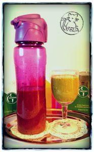 Greenic Smoothie mit Flasche