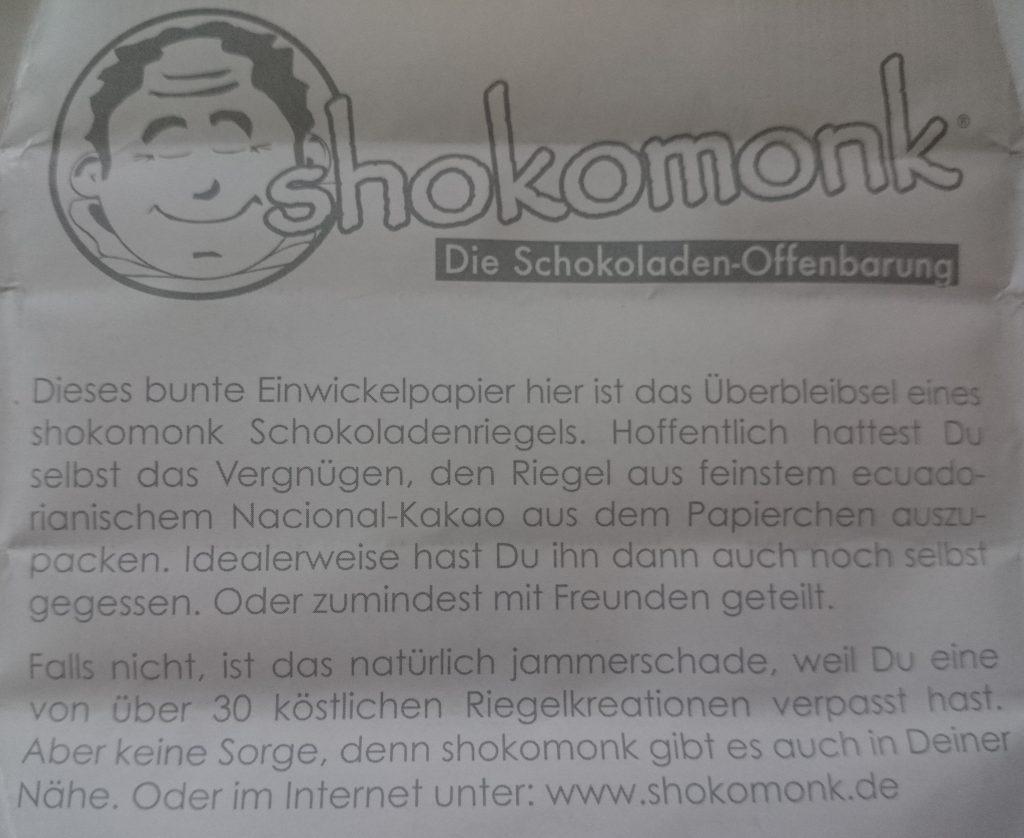 Shokomonk Offenbarung